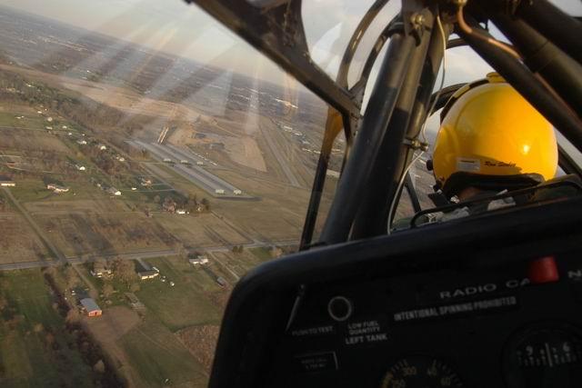 flying in michigan