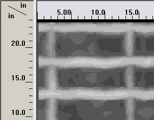 surface penetrating radar graph